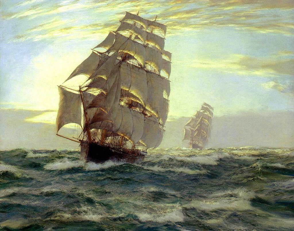 Montague Dawson The Flying Cloud