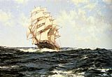 Montague Dawson Pacific Rollers painting