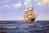 Montague Dawson Rollicking Days painting