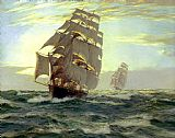 Montague Dawson The Flying Cloud painting