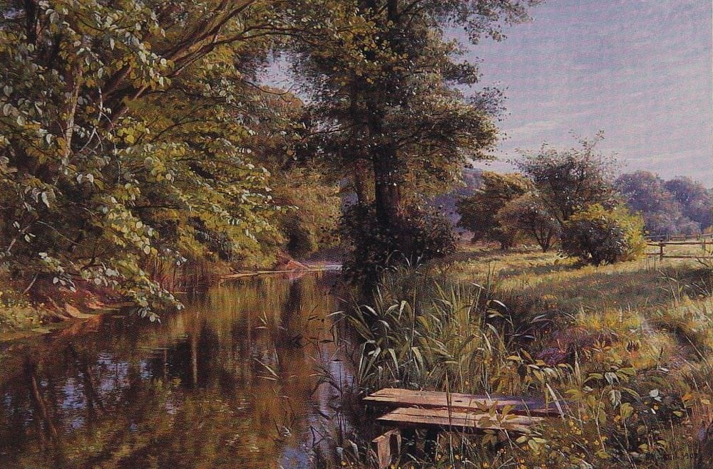 Peder Mork Monsted Calm Waters