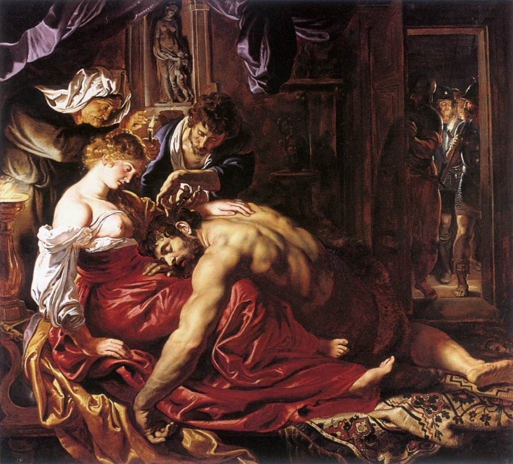 Peter Paul Rubens Samson and Delilah
