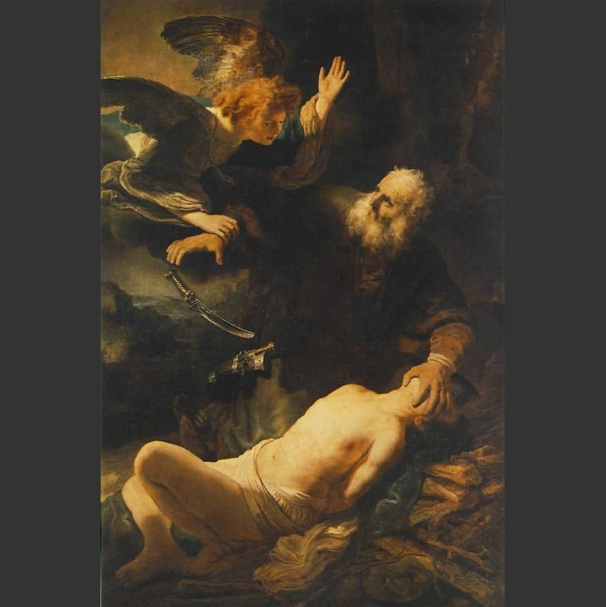 Rembrandt The Sacrifice of Abraham