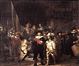 Rembrandt Rembrandt night watch painting