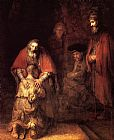 Rembrandt The Return of the Prodigal Son painting