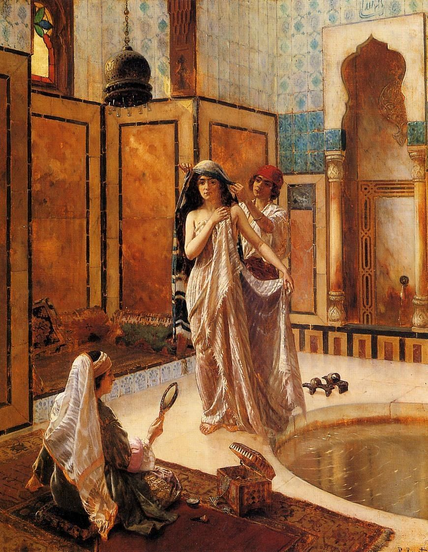 Rudolf Ernst The Harem Bath