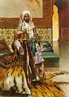 Rudolf Ernst The Arab Prince painting