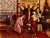 Rudolf Ernst The Hammam painting