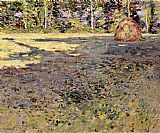 Theodore Robinson Afternoon Shadows painting