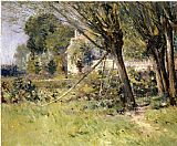 Theodore Robinson Willows painting