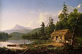 Thomas Cole Home in the Woods painting
