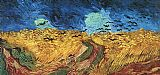 Vincent van Gogh Wheatfield with Crows painting