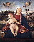 Vittore Carpaccio Madonna and Blessing Child painting