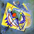 Wassily Kandinsky Red Oval painting