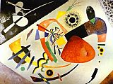 Wassily Kandinsky Red Spot II painting