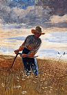 Winslow Homer Homer The Reaper painting
