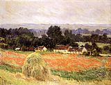 valley of the seine giverny Paintings - Haystack at Giverny