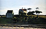Edward Hopper New York New Haven and Hartford painting