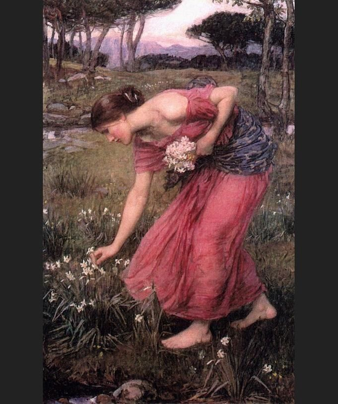 John William Waterhouse Waterhouse Narcissus